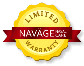Limited Warranty Seal for the Navage Nasal Care
